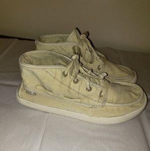 Sanuk Hi-Tops Sneakers size 7.5